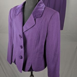 VTG En Avance purple suit (B13)